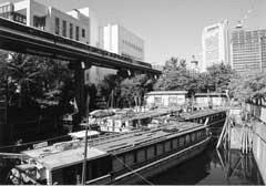 鹿島橋付近の風景
