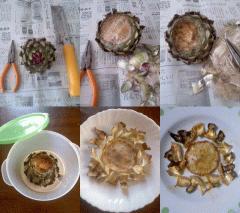 アーティチョークの調理法