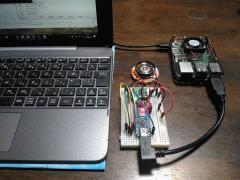 Raspberry Pi + Arduino + YMF825Board