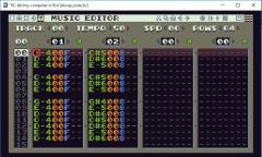 TIC-80 MUSIC EDITOR