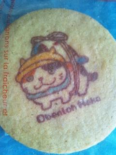 お弁当ねこクッキー